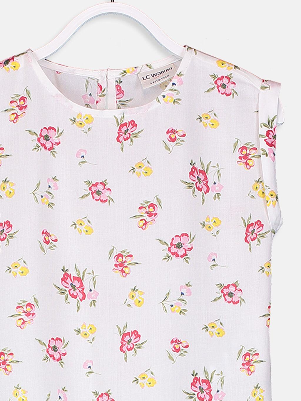 Kız Çocuk Kız Çocuk Viskon Bluz