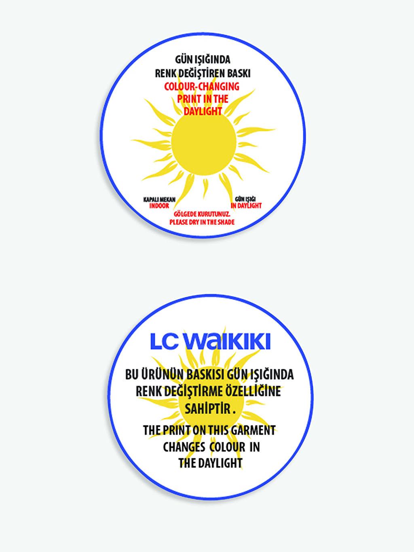 LC Waikiki Beyaz Erkek Çocuk Baskılı Tişört ve Şort