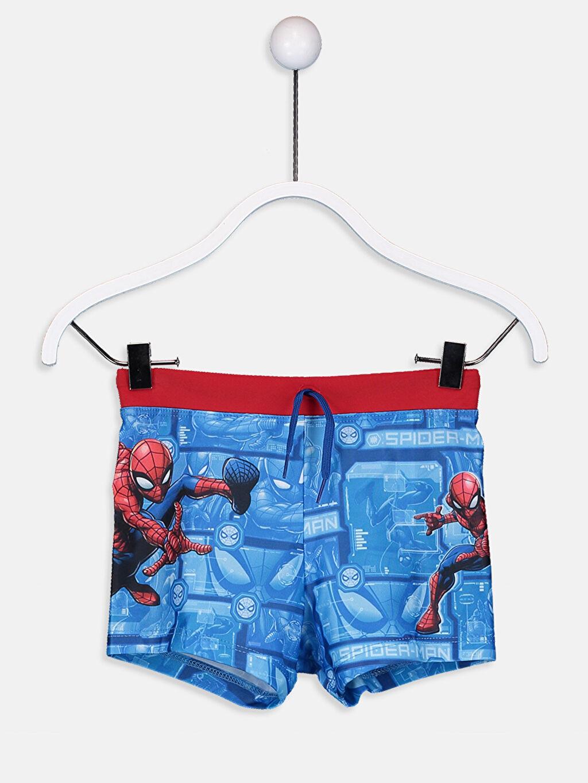 Mavi Erkek Çocuk Spiderman Boxer Mayo 9S8322Z4 LC Waikiki