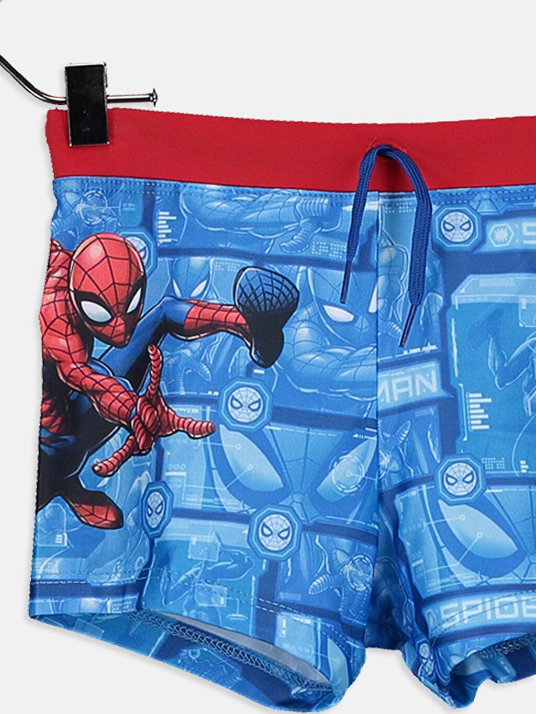 Erkek Çocuk Erkek Çocuk Spiderman Boxer Mayo