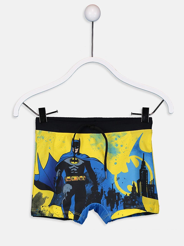 Sarı Erkek Çocuk Batman Boxer Mayo 9S8326Z4 LC Waikiki