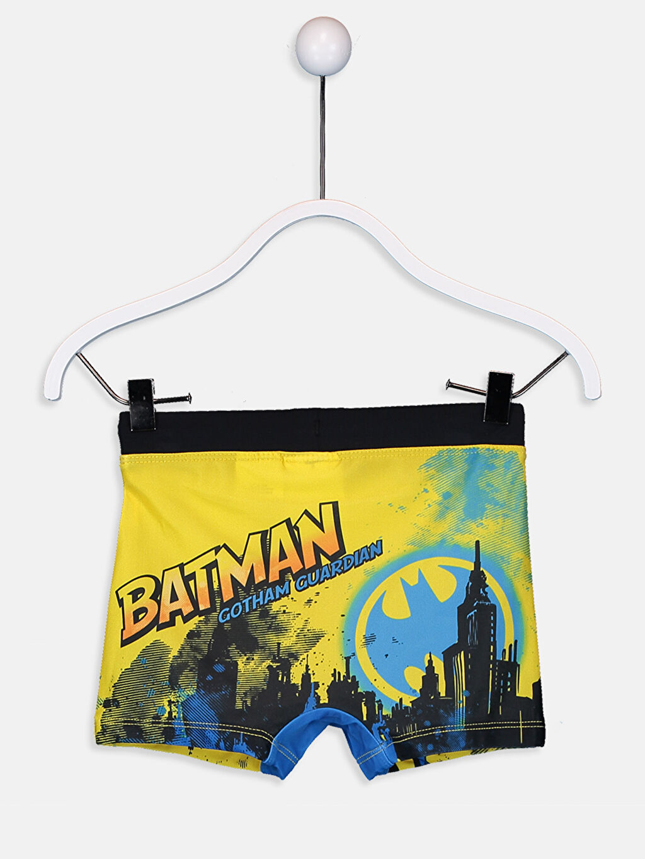 %80 Polyester %20 Elastan %100 Polyester  Erkek Çocuk Batman Boxer Mayo