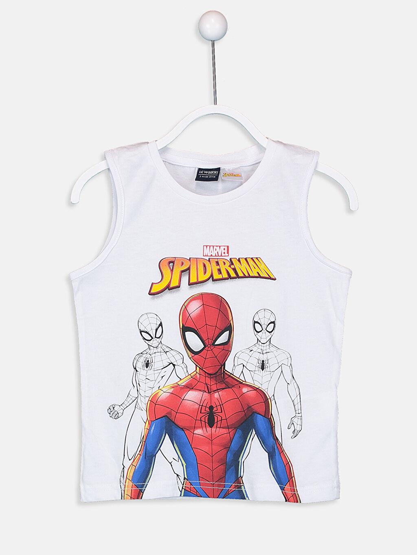 Erkek Çocuk Erkek Çocuk Spiderman Yüzme Takım