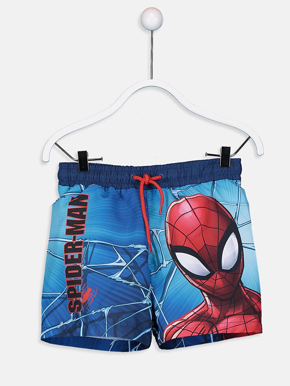 %100 Polyester Erkek Çocuk Spiderman Yüzme Takım