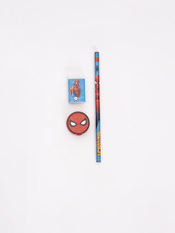 %100 Diğer  Erkek Çocuk Spiderman Kırtasiye Seti