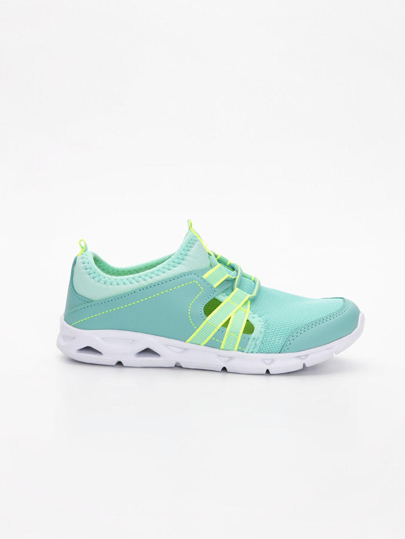 Yeşil Kız Çocuk Aktif Spor Ayakkabı 9SG282Z4 LC Waikiki