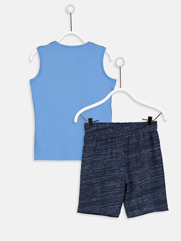Erkek Çocuk Erkek Çocuk Pamuklu Pijama Takımı