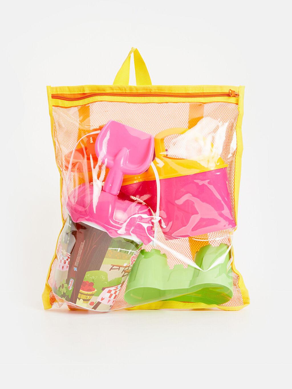 Çok Renkli Kız Çocuk Pony Plaj Seti   9SL138Z4 LC Waikiki
