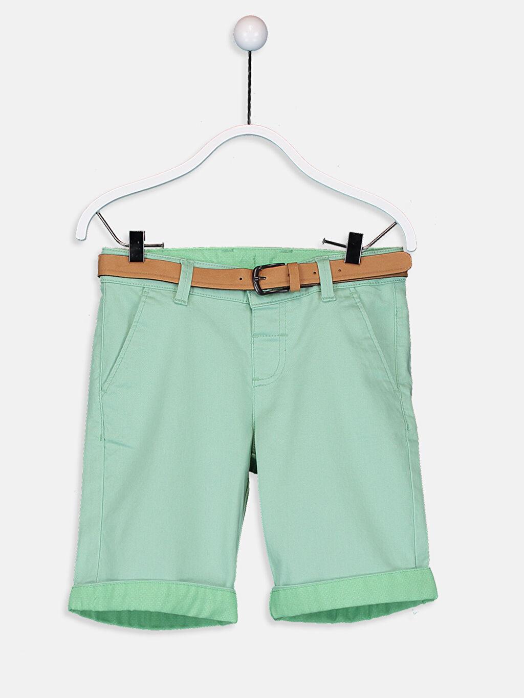 Yeşil Erkek Çocuk Chino Roller ve Kemer 9SO205Z4 LC Waikiki