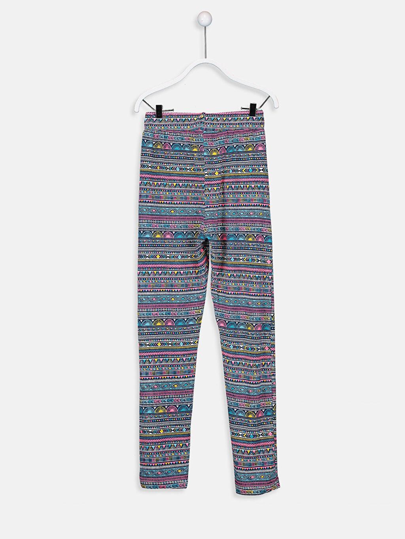 %96 Viskon %4 Elastan Normal Bel Standart Kız Çocuk Viskon Pantolon