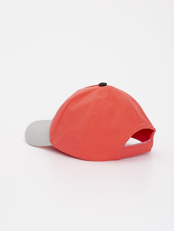 Kız Çocuk Kız Çocuk Yazı Baskılı Şapka