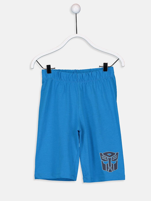 %100 Pamuk Erkek Çocuk Transformers Pijama Takımı