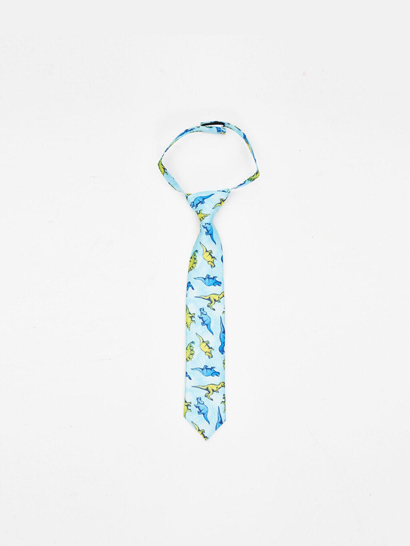 Mavi Erkek Çocuk Desenli Kravat 9SU082Z4 LC Waikiki