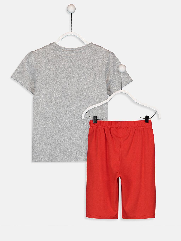 %50 Pamuk %50 Polyester Standart Pijamalar Erkek Çocuk Spiderman Pijama Takımı