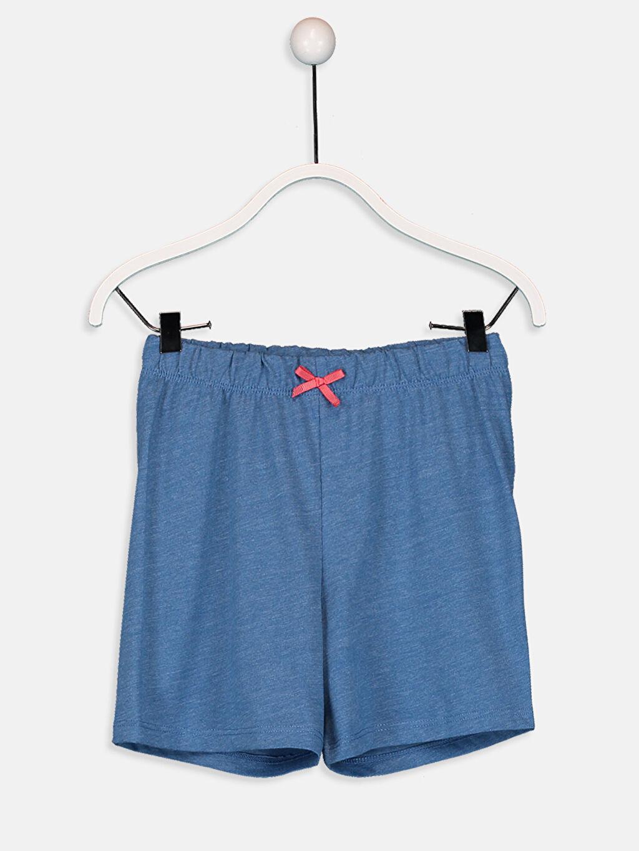 %100 Pamuk Kız Çocuk Pembe Panter Pamuklu Pijama Takımı