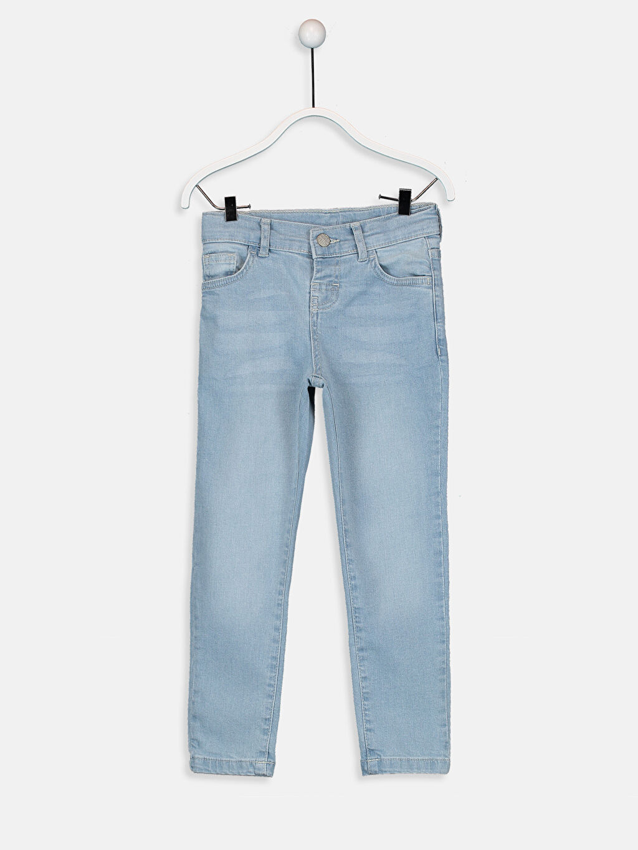 İndigo Erkek Çocuk Skinny Jean Pantolon 9SA165Z4 LC Waikiki