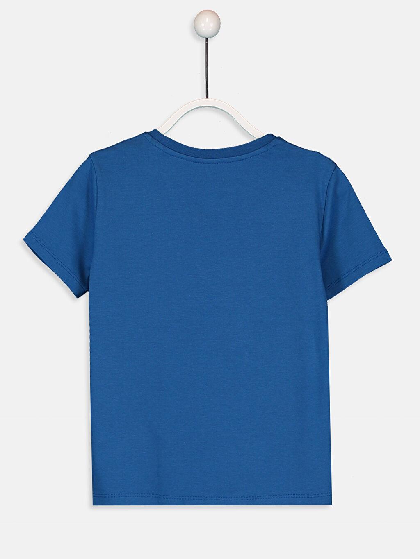%100 Pamuk Baskılı Normal Bisiklet Yaka Tişört Kısa Kol Erkek Çocuk Spiderman Pamuklu Tişört