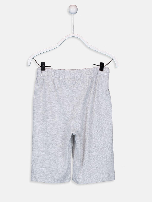 %100 Pamuk Erkek Çocuk Kuru Kafa Nakışlı Pijama Takımı