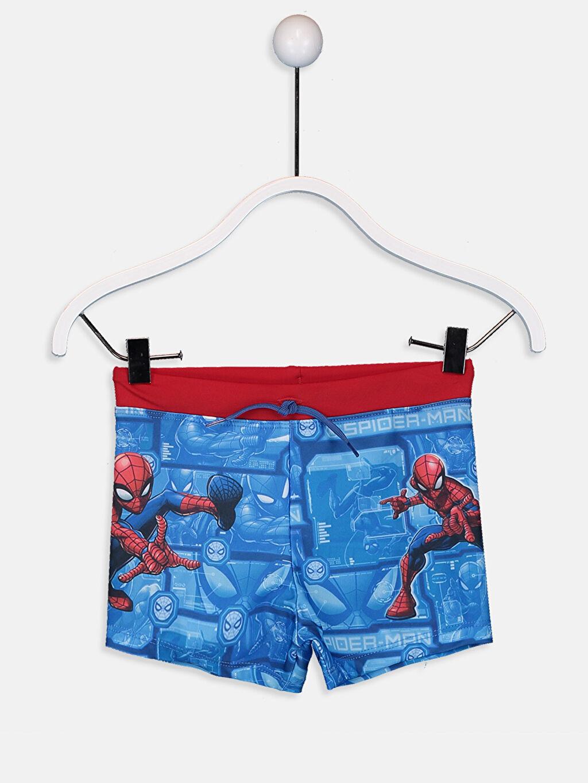 Mavi Erkek Çocuk Spiderman Boxer Mayo 9SA564Z4 LC Waikiki
