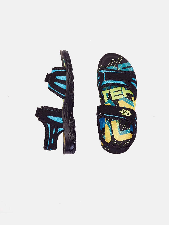 Diğer malzeme (pvc) Tekstil malzemeleri Diğer malzeme (poliüretan)  Erkek Çocuk Cırt Cırtlı Sandalet