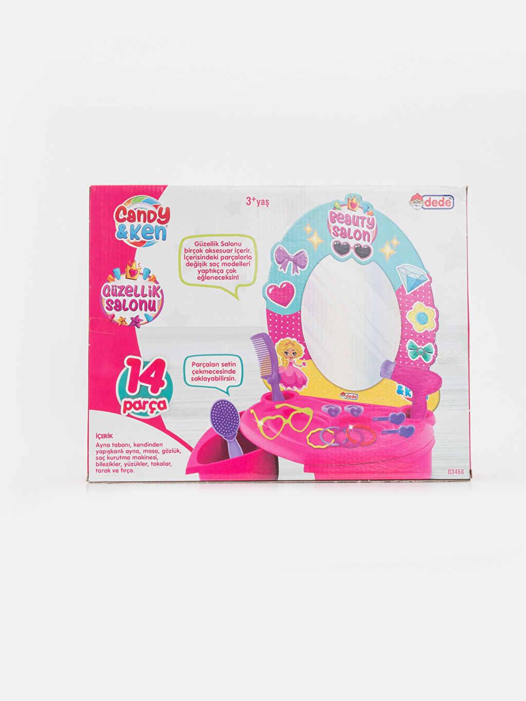 Çok Renkli Kız Çocuk Barbie Güzellik Salonu Seti 9WR460Z4 LC Waikiki