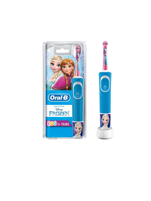 Beyaz Oral-B Çocuk Frozen Özel Seri Şarj Edilebilir Diş Fırçası 9WC096Z4 LC Waikiki