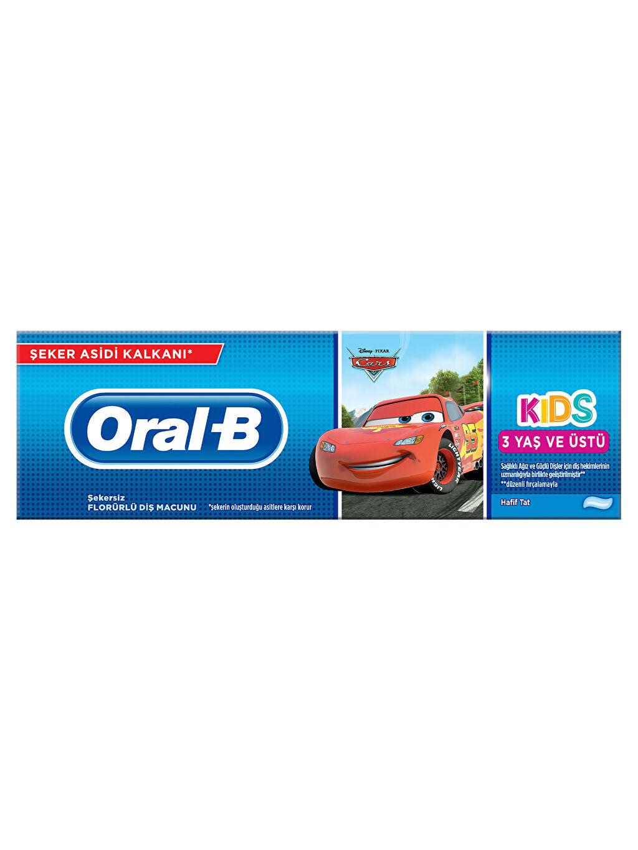 Beyaz Oral-B Pro-Expert Cars Çocuk Diş Macunu 75 ml 9WC109Z4 LC Waikiki