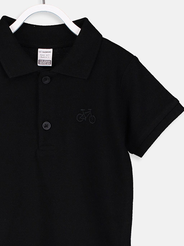 Erkek Bebek Erkek Bebek Polo Yaka Tişört