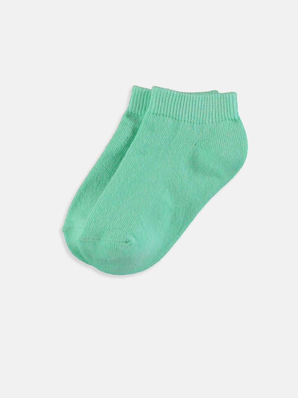 LC Waikiki Çok Renkli Erkek Bebek Patik Çorap 4'lü