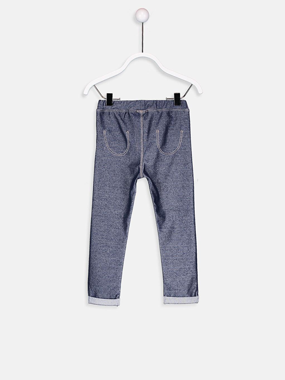 %75 Pamuk %20 Polyester %5 Elastan Alt Grup Kız Bebek Pamuklu Tayt
