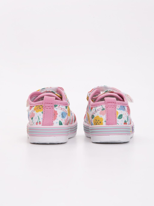 Kız Bebek Baskılı Spor Ayakkabı