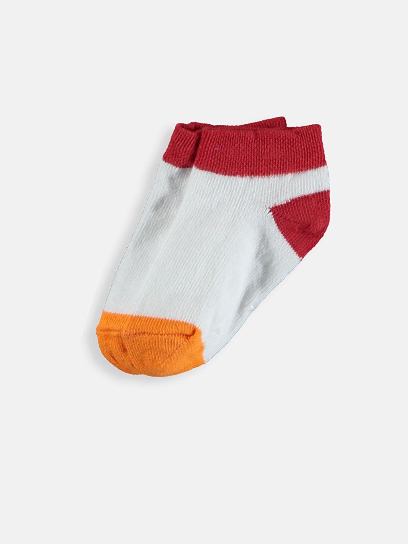 Erkek Bebek Erkek Bebek Patik Çorap 4'lü