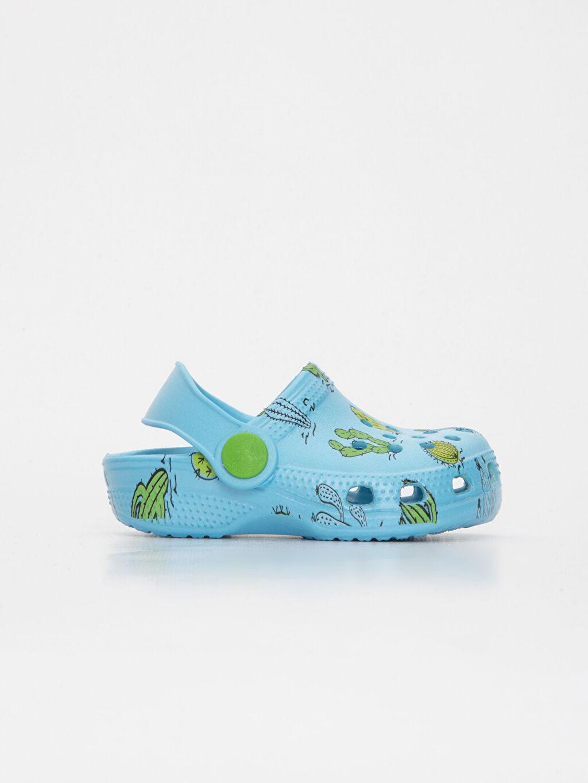 Turkuaz Erkek Bebek Desenli Sandalet 9S4951Z1 LC Waikiki