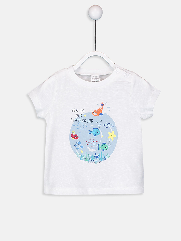 Erkek Bebek Erkek Bebek Pamuklu Tişört 2'li