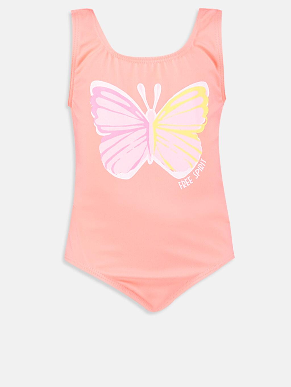 Pembe Kız Bebek Desenli Mayo 9S5980Z1 LC Waikiki