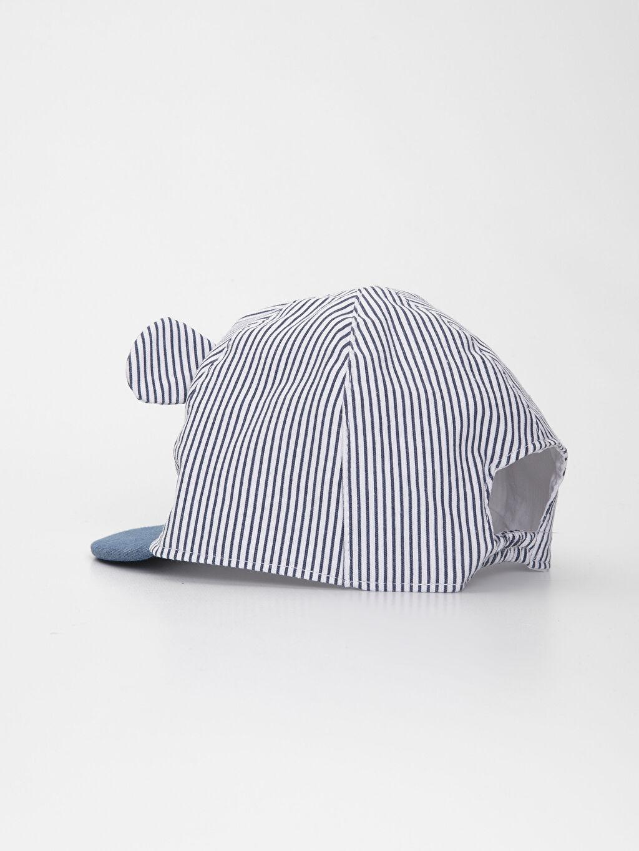 Erkek Bebek Erkek Bebek Çizgili Şapka