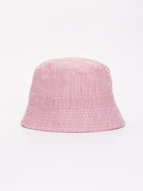 Kırmızı Erkek Bebek Çizgili Dokuma Şapka 9S6047Z1 LC Waikiki