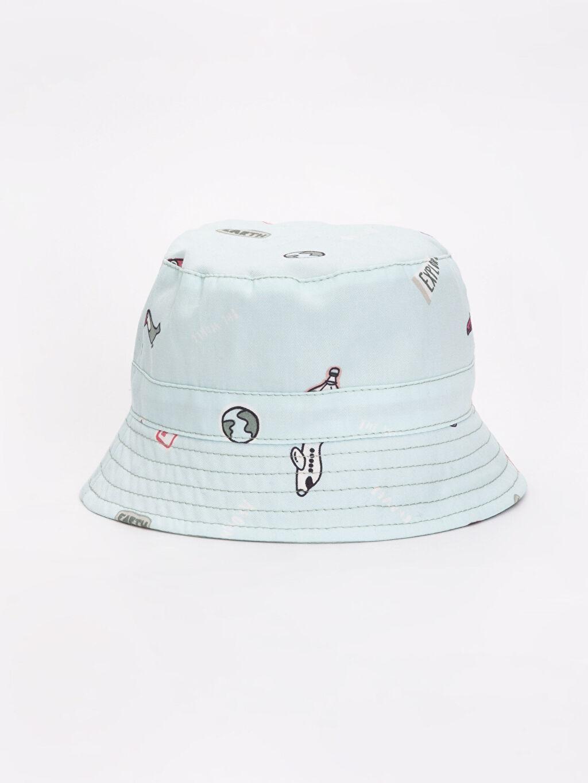 Yeşil Erkek Bebek Desenli Şapka 9S6050Z1 LC Waikiki