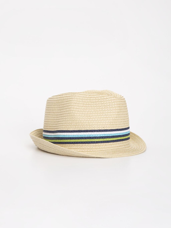 Ekru Erkek Bebek Hasır Şapka 9S6111Z1 LC Waikiki
