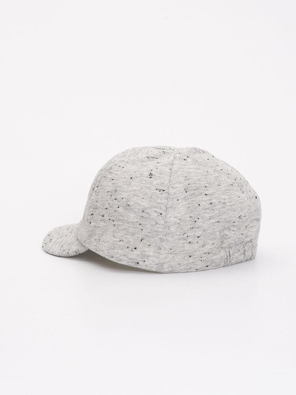Erkek Bebek Erkek Bebek Yazı Baskılı Şapka
