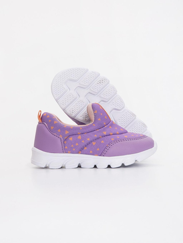 Kız Bebek Kız Bebek Baskılı Aktif Spor Ayakkabı