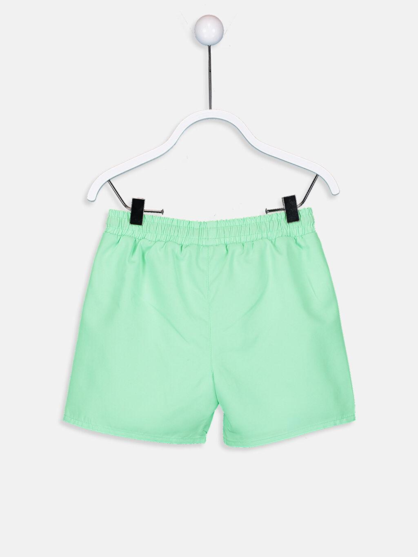 %100 Polyester %100 Polyester Şort Erkek Bebek Baskılı Yüzme Şort
