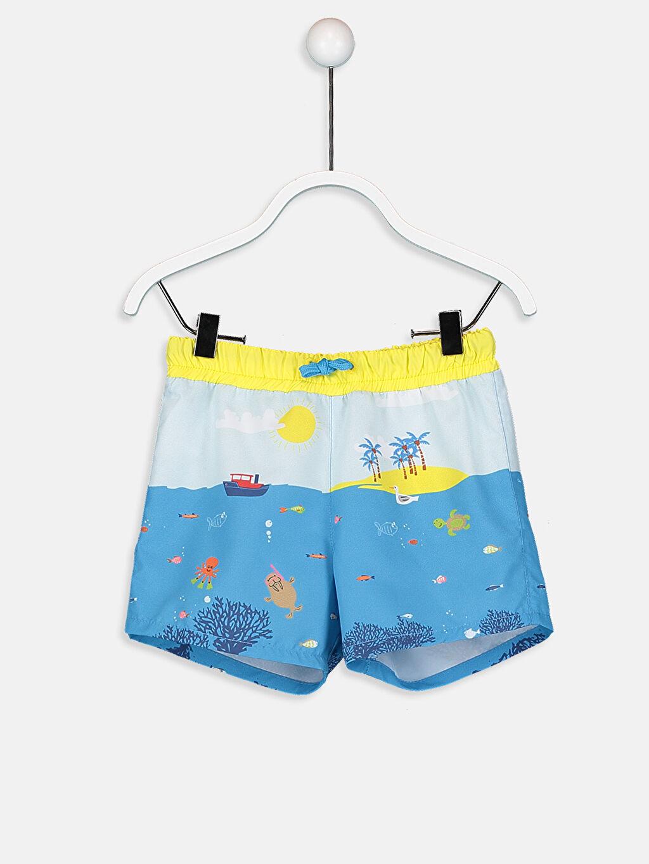 Mavi Erkek Bebek Desenli Mayo 9S6777Z1 LC Waikiki