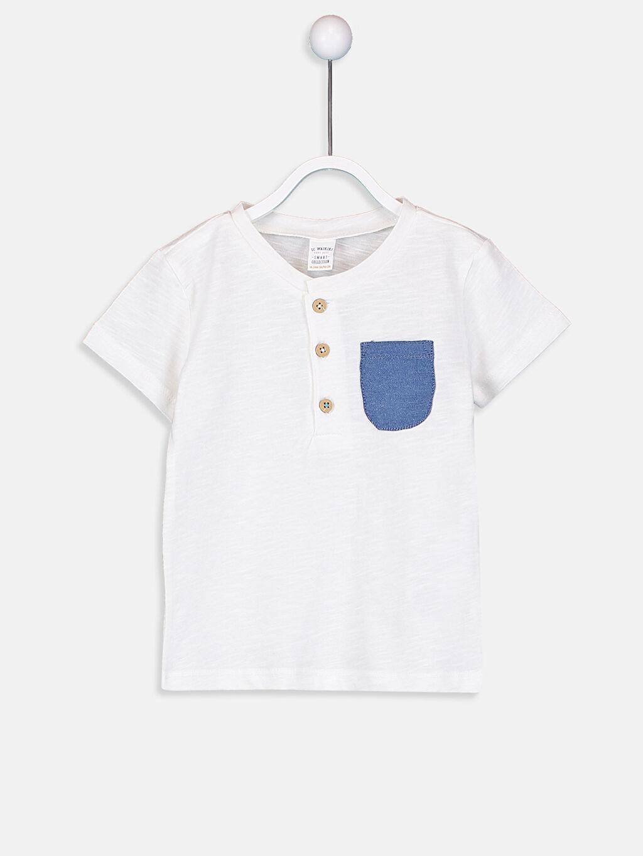 Erkek Bebek Erkek Bebek Pamuklu Tişört ve Şort 2'li