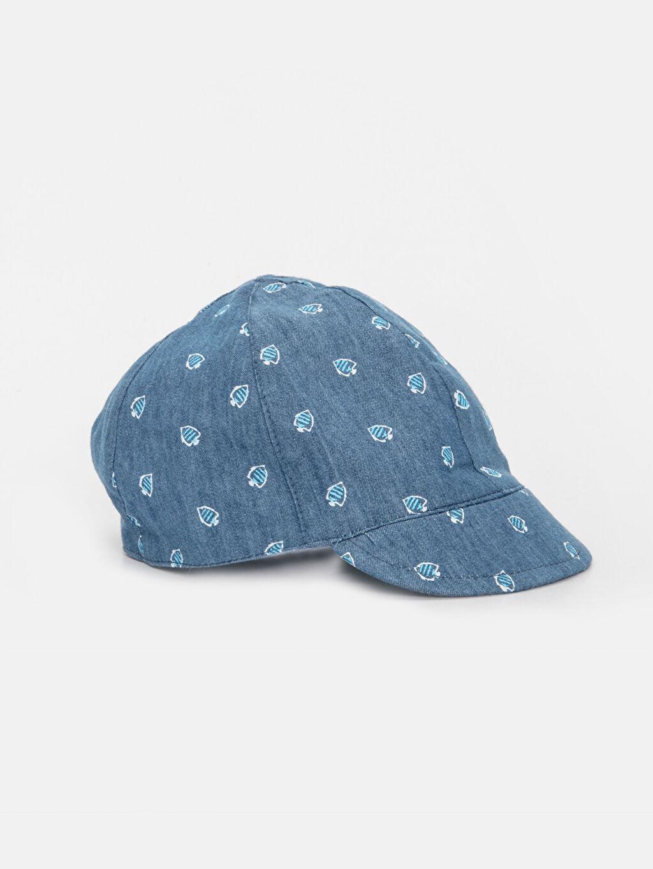 Lacivert Erkek Bebek Pamuklu Şapka 9S7615Z1 LC Waikiki