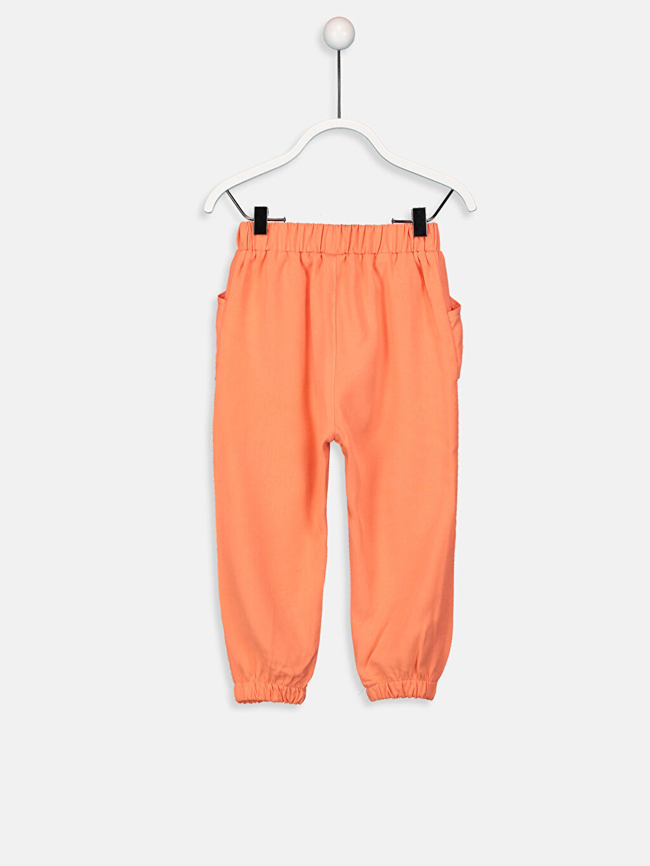%62 Lyocell %38 Viskoz Normal Bel Kız Bebek Gabardin Harem Pantolon