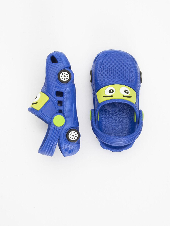 Diğer malzeme (eva) Diğer malzeme (eva)  Erkek Bebek Desenli Sandalet