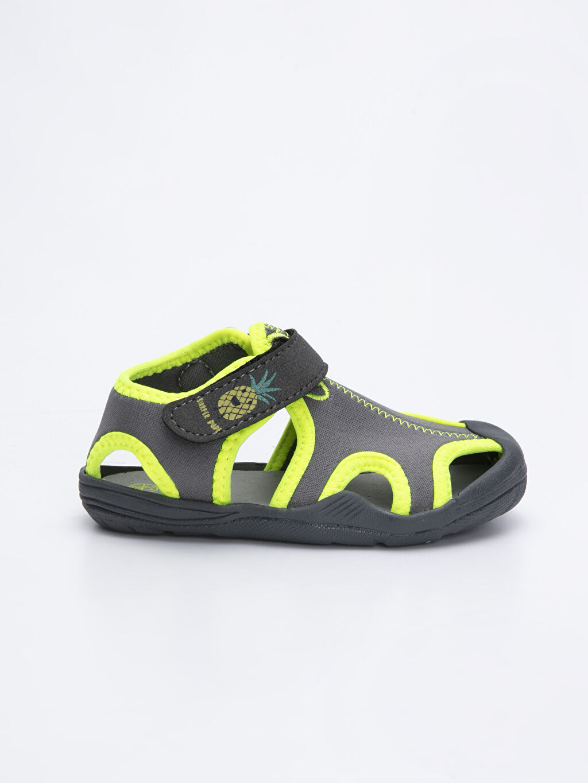 Gri Erkek Bebek Triko Deniz Ayakkabısı 9S8398Z1 LC Waikiki