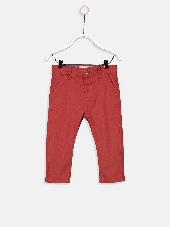 Turuncu Erkek Bebek Gabardin Pantolon 9S9492Z1 LC Waikiki
