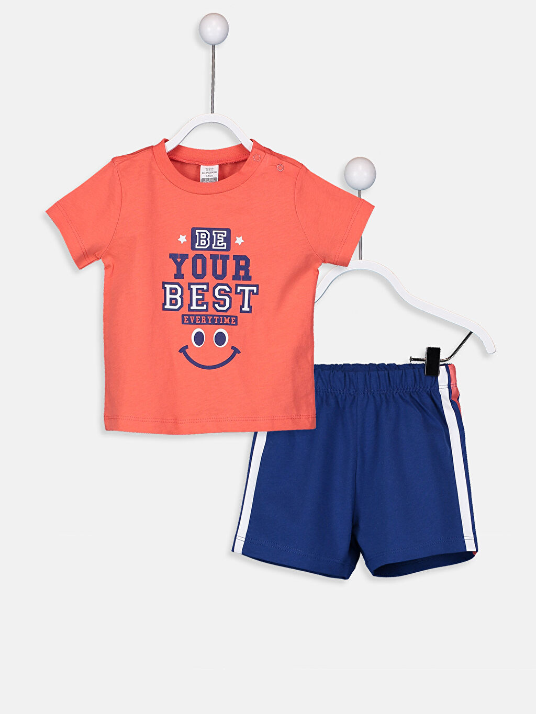 Mercan Erkek Bebek Pijama Takımı 9S9934Z1 LC Waikiki
